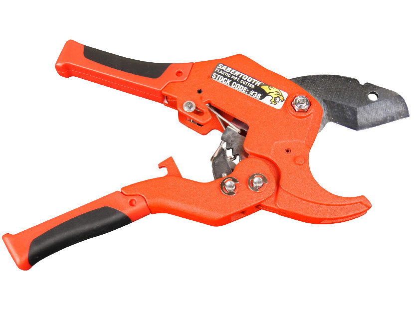 J.C. Whitlam Manufacturing Co. Sabertooth Plastic Pipe Cutter 2