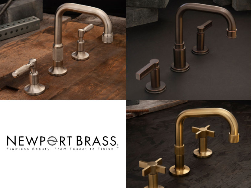 Newport Brass Bath Collections
