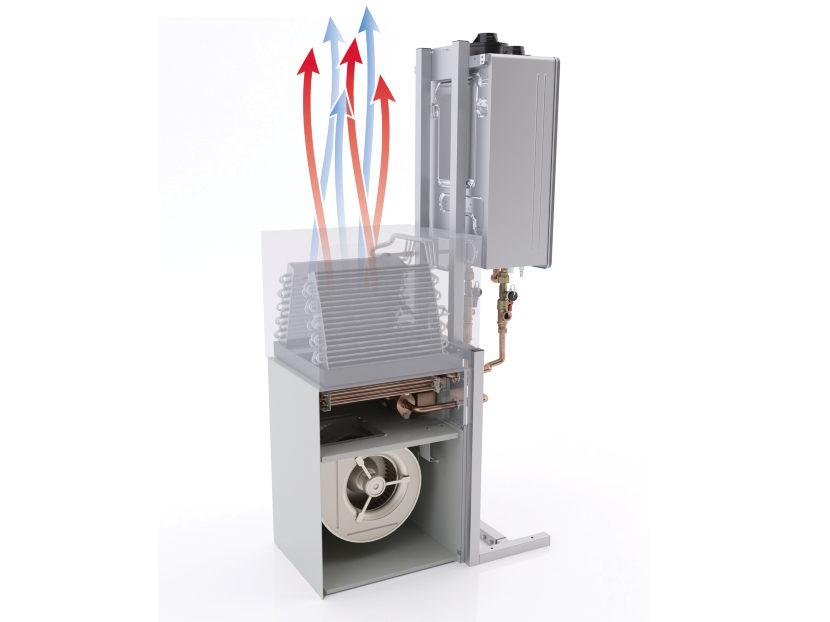 Rinnai Hydronic Air Handler System