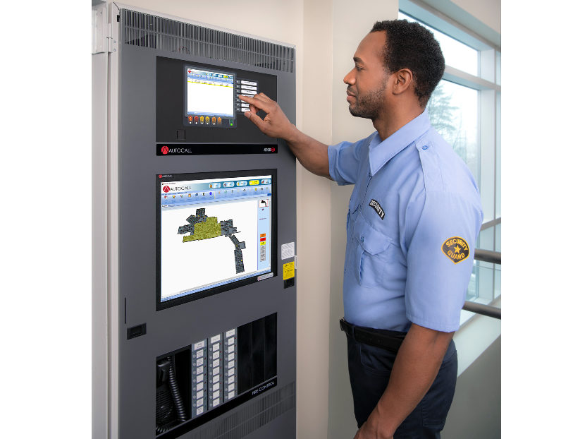Johnson Controls Color Touchscreen Displays for ES Series Fire Control Units