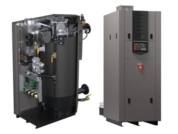 Lochinvar CRESTCondensing Boiler with Hellcat Combustion Technology