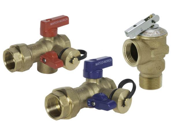 Matco-Norca Tankless Water Heater Isolation Valve Kit