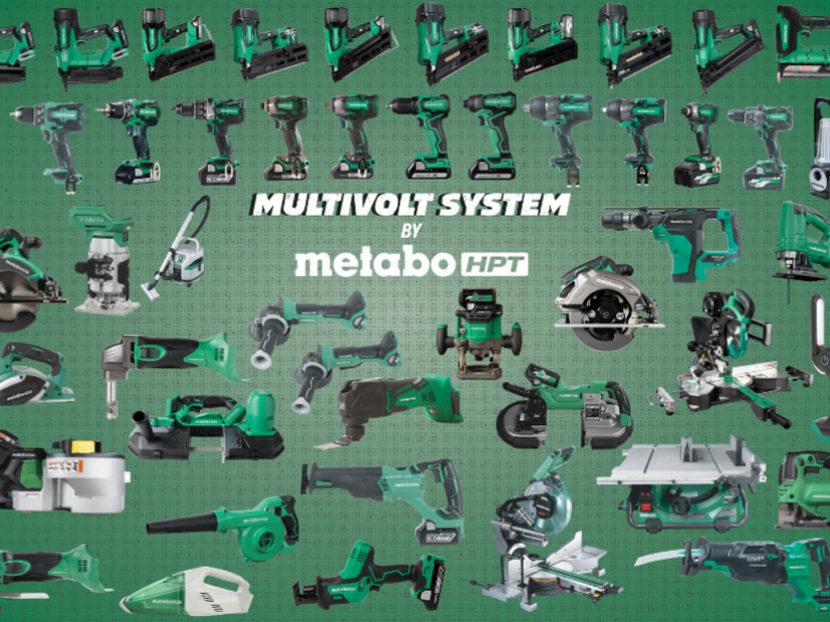 Metabo HPT MultiVolt System Cordless Power Tools