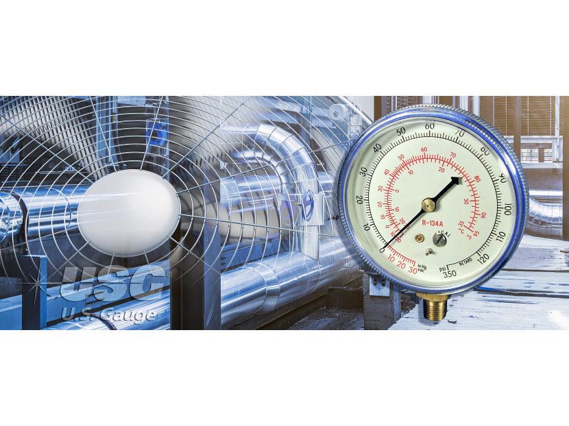 AMETEK HVAC Pressure Gauge 2