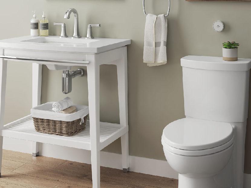 American Standard Cadet Touchless Flush Toilet 2