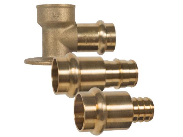 Matco-Norca Brass Press X Pex Adapter Fittings 2