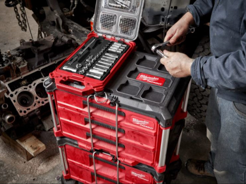 Milwaukee Tool PACKOUT Low-Profile Organizer
