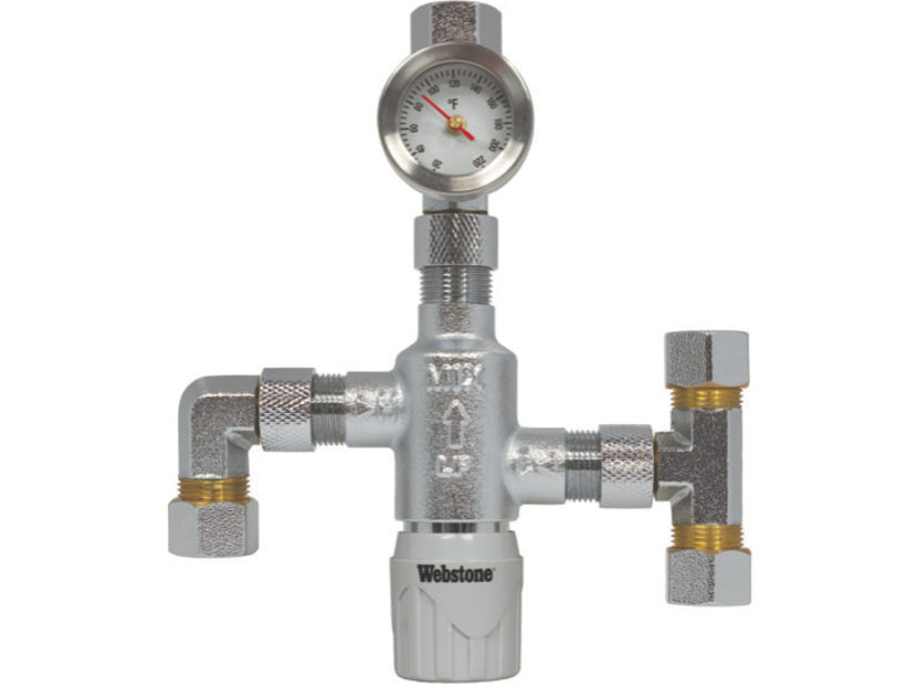 NIBCO Webstone Ultra-Compact Thermostatic Mixing Valve 2