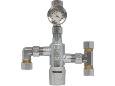 Nibco webstone ultra compact thermostatic mixing valve 2