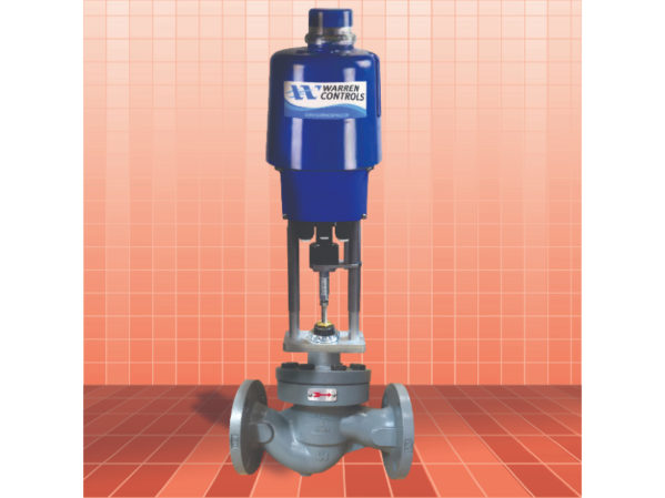 Warren Controls ILEA 5800E Series Electrically Actuated Valve
