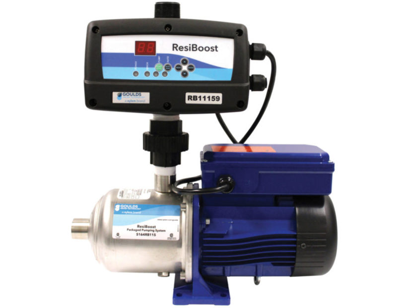 Goulds Water Technology ResiBoost Complete Packaged Variable Frequency System
