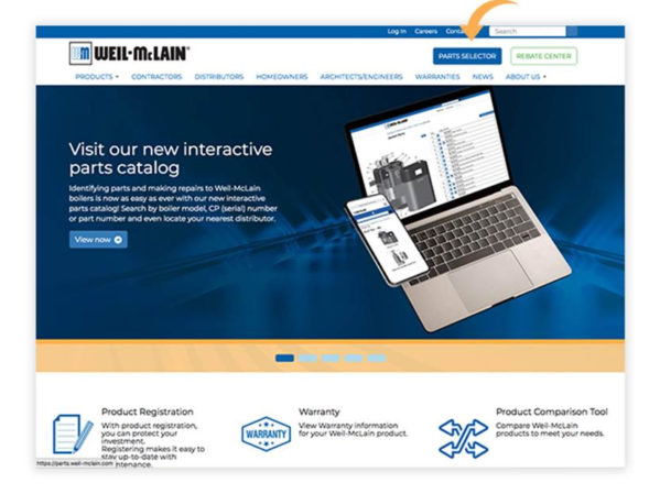 Weil-McLain Interactive Parts Catalog