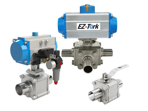 SVF Flow Controls Hygienic Ball Valves