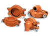 Anvil international gruvlok coupling with pre installed slt fittings