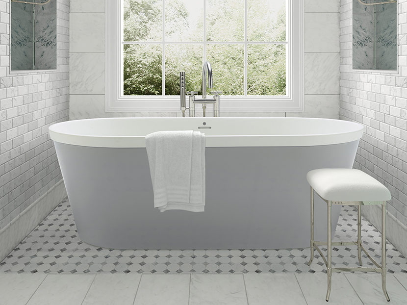 MTI Baths The Blake Freestanding Tub