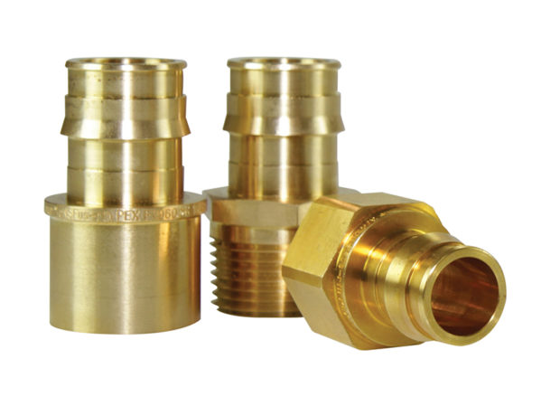 Uponor ProPEX Brass Transition Fittings