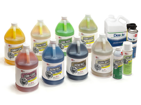 RectorSeal HVAC/R Coil Cleaners Product Line