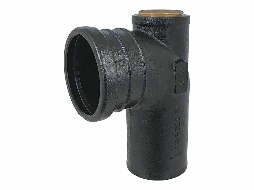 Geberit-2-Inch Cast-Iron-Waste-Fitting