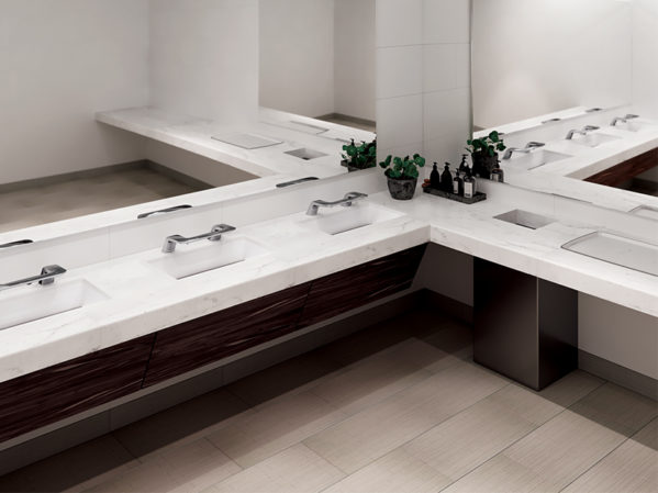 Bradley WashBar with Undermount Basins