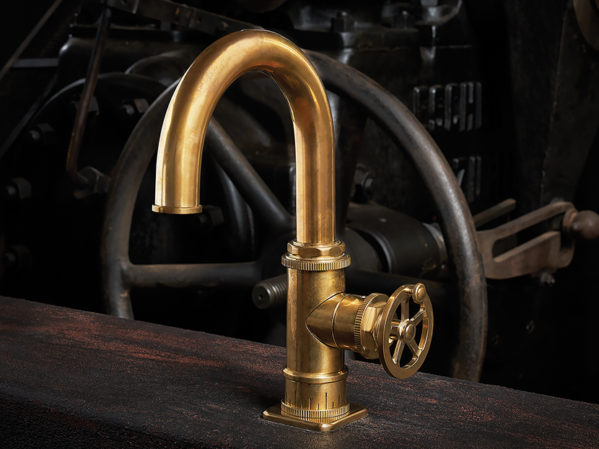 California Faucets Steampunk Bay Series Bath Faucet