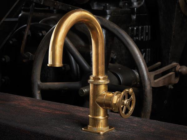 California Faucets Steampunk Bay Series Bath Faucet