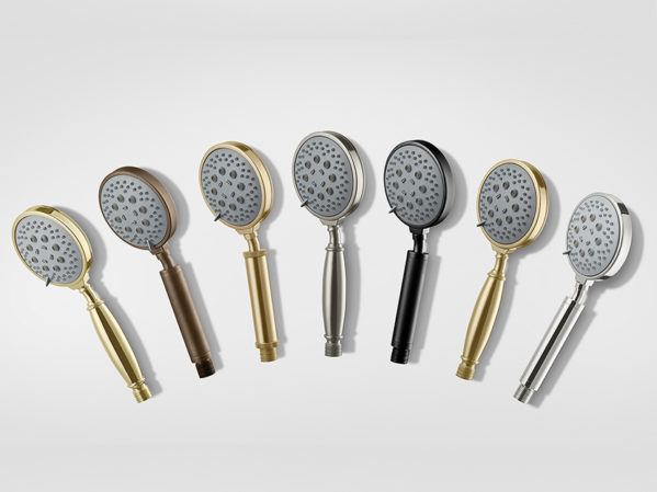 California Faucets All-Brass Multifunction Handshowers