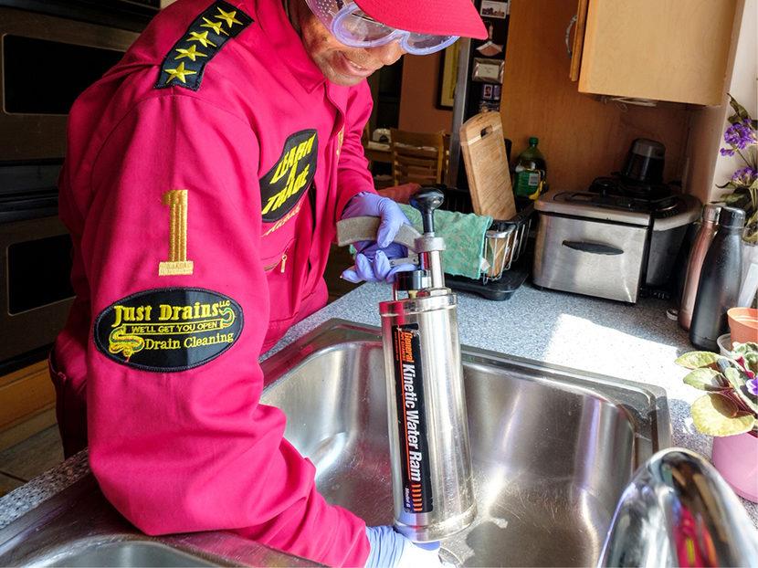 General Pipe Cleaners Kinetic Water Ram