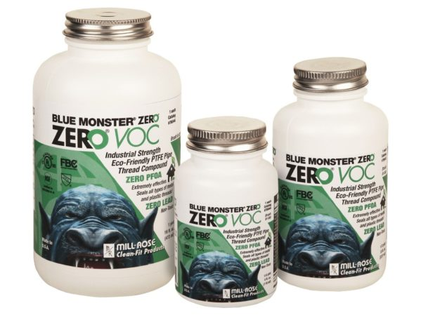 Clean-Fit Products Blue Monster ZERO VOC Thread Sealant 2