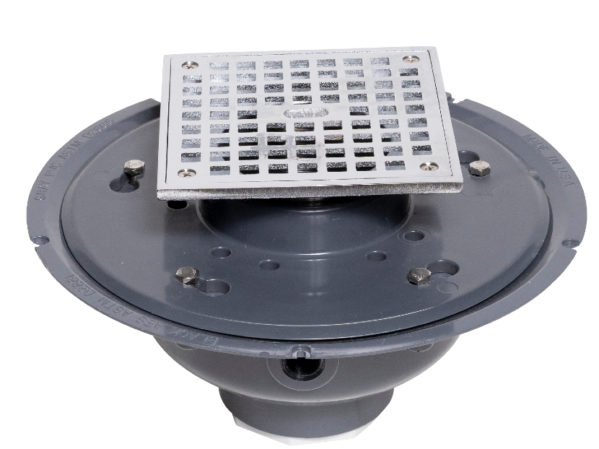 Oatey 2 PVC Adjustable Commercial Drain 2