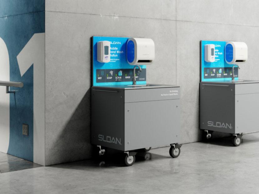 Sloan Mobile Handwashing Station 2