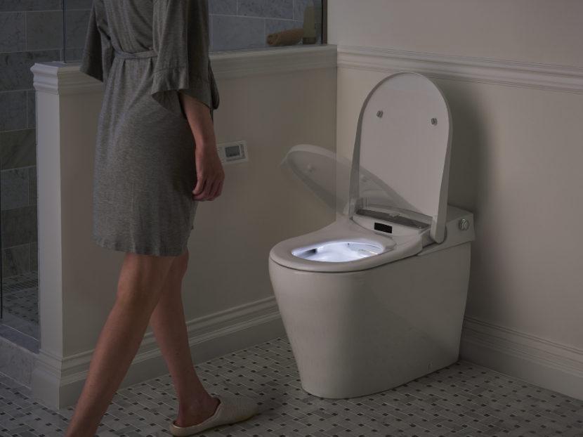 DXV AT200 LS Spalet Integrated Electronic Bidet Toilet 2