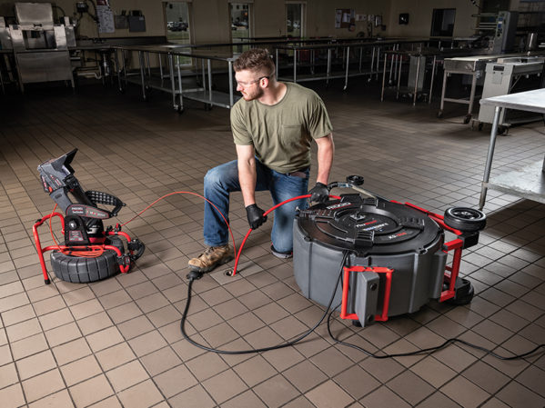 RIDGID FlexShaft K9-306 Drain Cleaning Machine