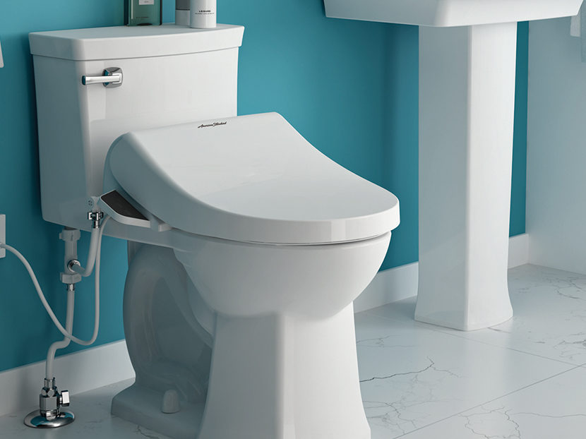 American Standard Toilet Seats >> American Standard Advanced Clean SpaLet Bidet Seat Collection | 2018-01-19 | phcppros