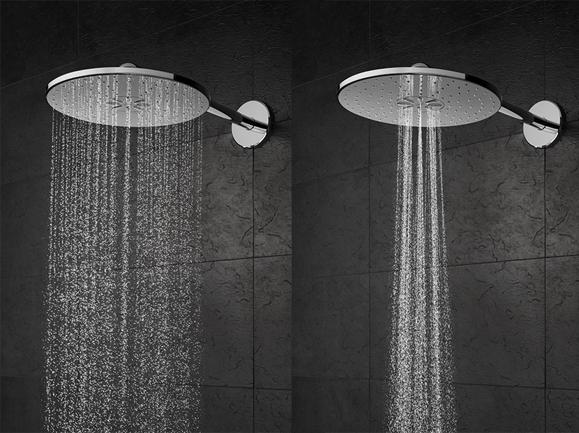 grohe rainshower 310 smartactive showerhead 2018 01 23 phcppros. Black Bedroom Furniture Sets. Home Design Ideas