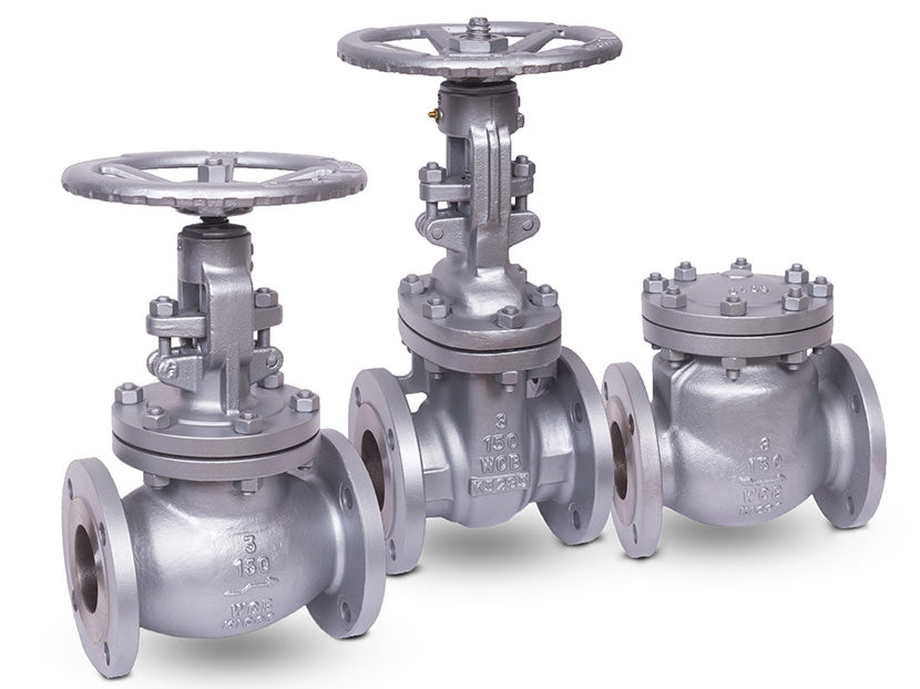 Matco-Norca-Cast-Steel-Flanged-Gate-and-Swing-Check-Valves