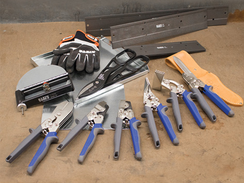 Klein-Tools-Complete-Line-of-Duct-And-Sheet-Metal-Tools