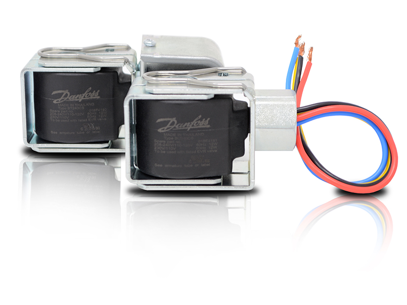 Danfoss Dual Voltage/Dual Frequency Solenoid Coils