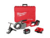Milwaukee tool m18 fuel pipe threader with one key
