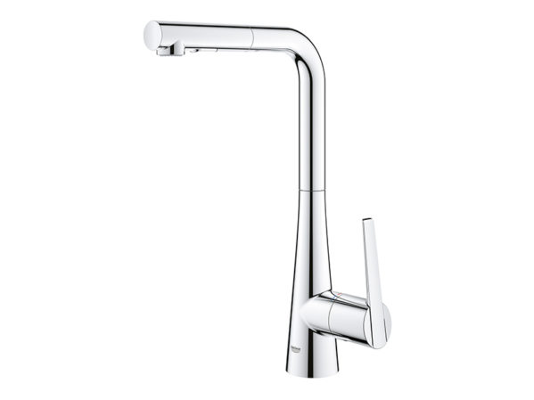 GROHE LadyLux and Minta Single-Handle Pull Down Kitchen Faucets