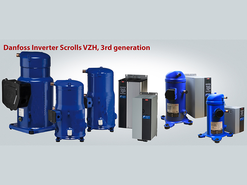 Danfoss Third-Generation VZH Variable-Speed Scroll Compressors