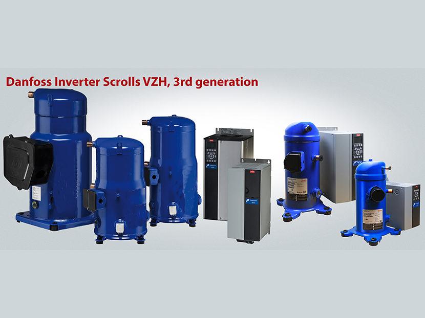 Danfoss Third-Generation VZH Variable-Speed Scroll Compressors