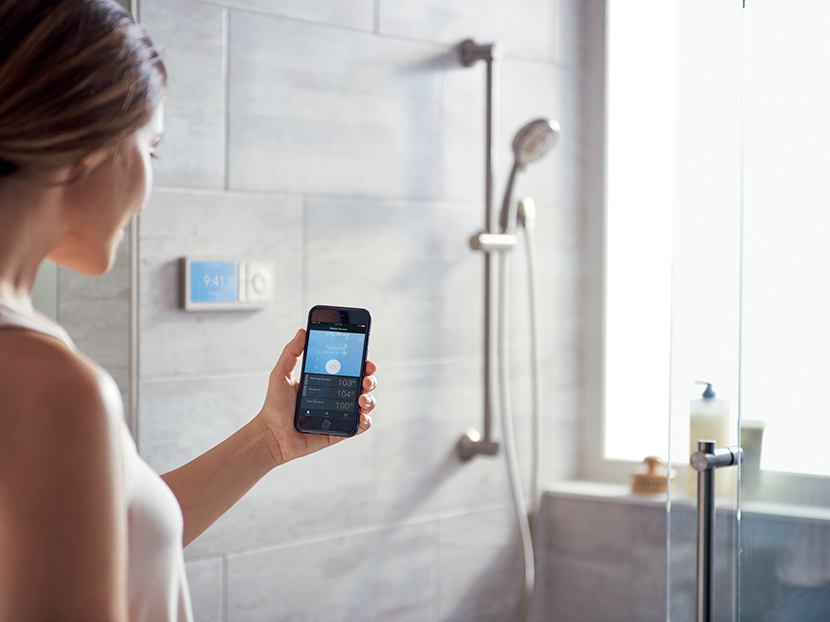 Moen Voice-Activated Shower