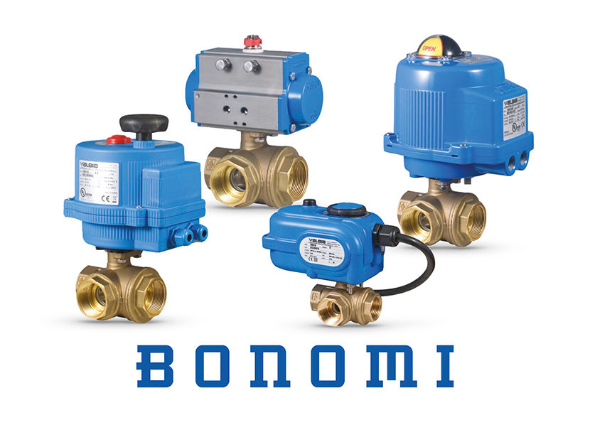Bonomi Automated Three-Way Ball Valve Packages