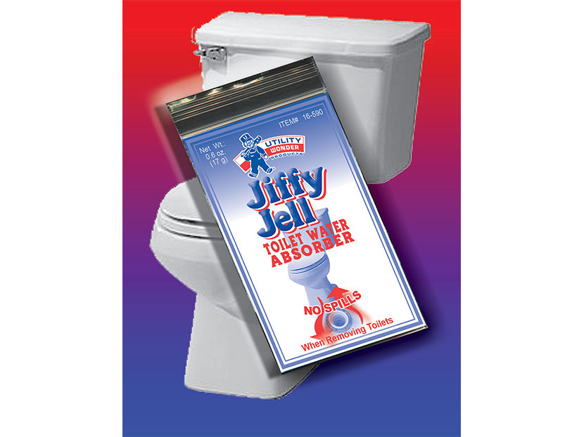 UTILITY JIFFY JELL Toilet Water Absorber