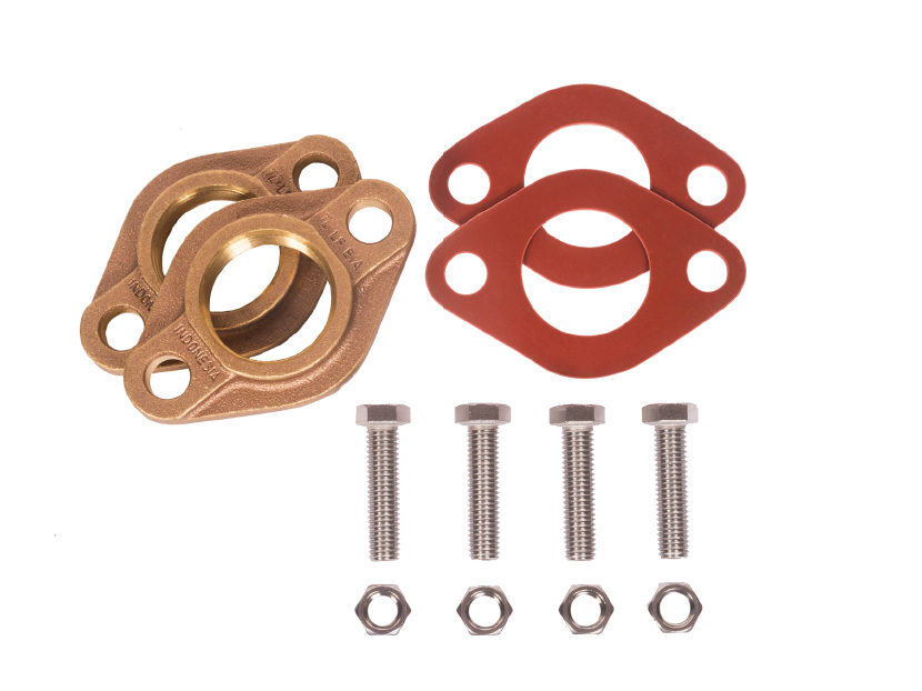 Matco-Norca-Red-Rubber-Double-Meter-Flange-Kits