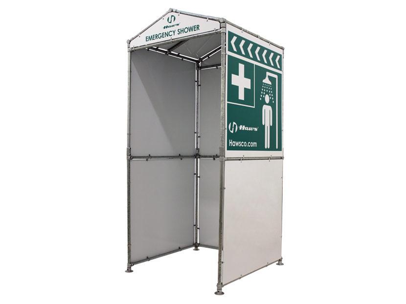 Haws Three-Sided Shower Enclosure