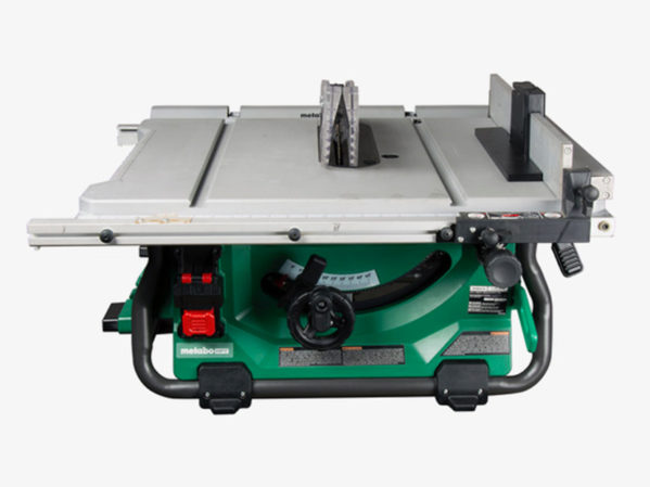Metabo HPT MultiVolt Table Saw 2