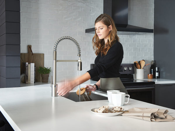 Moen Align Spring Faucet with MotionSense Wave