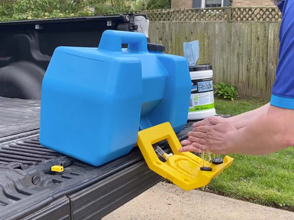 PlumbMaster and Speakman Mobile Gravity-Operated Hand Wash Station