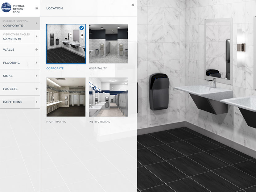 Bradley-Virtual-Restroom-Design-Tool